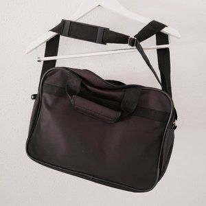 TRAVELERS CLUB Black Carry-On Boarding Tote Bag